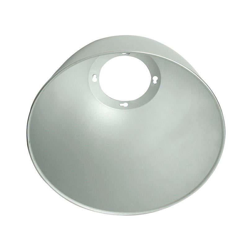 Reflector aluminio 60º para lámpara industrial, Ø130mm